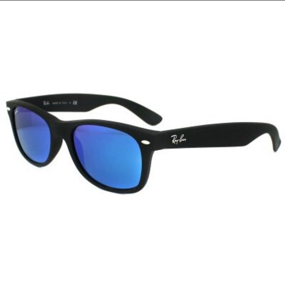 64828f91ab RayBan Wayfarer Blue Flash rb2132 Sunglasses New